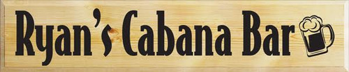 CUSTOM Ryan's Cabana Bar 10x48