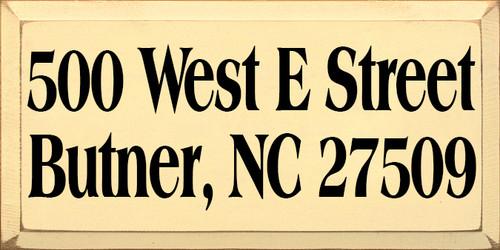 CUSTOM Butner NC 9x18