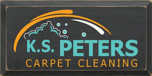CUSTOM KS Peters Carpet Cleaning 9x18