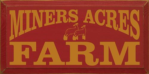CUSTOM Miners Acres Farm 9x18