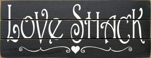 Wood Sign - Love Shack