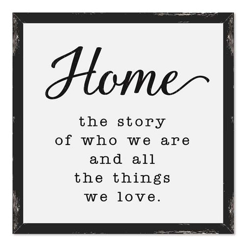 Home The Story Of Who We Are And All The Things We Love Farmhouse