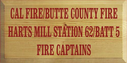 CUSTOM Cal Fire/Butte Country Fire 9x18 (SR1SDC1)