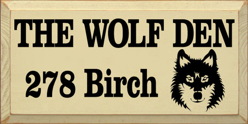 CUSTOM The Wolf Den 9x18