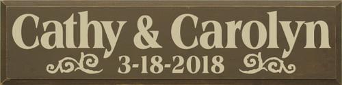 CUSTOM Cathy & Carolyn 9x36