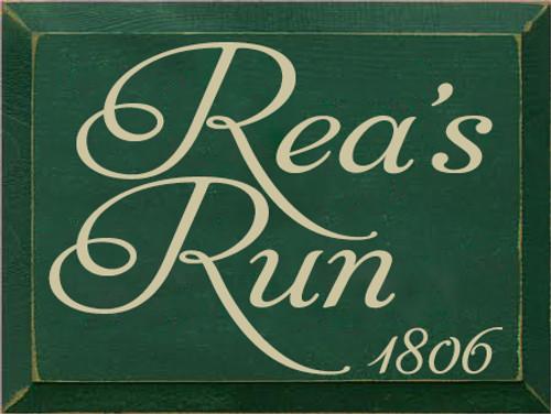 CUSTOM Rea's Run 9x12