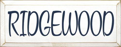 CUSTOM RIDGEWOOD 7x18