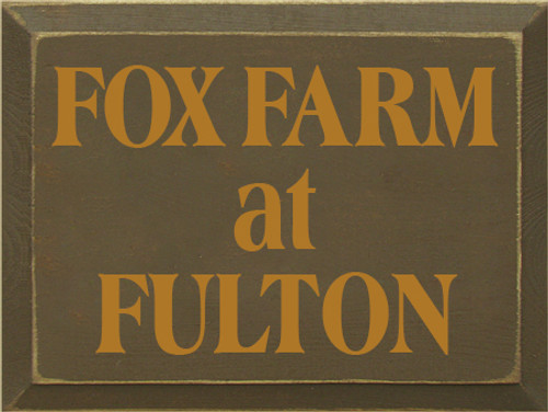 CUSTOM Fox Farm at Fulton 9x12