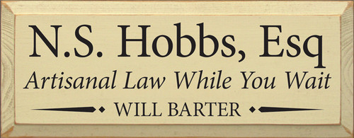 CUSTOM N.S. Hobbs, Esq 7x18