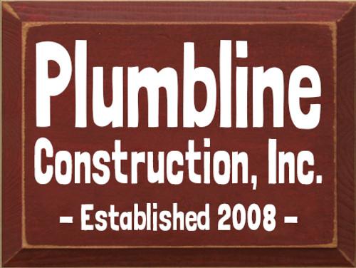 CUSTOM Plumbline Construction 9x12