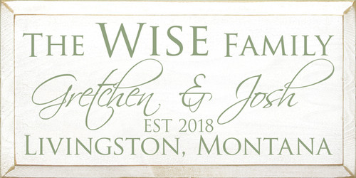 CUSTOM The Wise Family 9x18