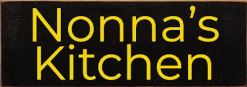 CUSTOM Nonna's Kitchen 3.5x10 Wood Sign