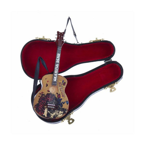 "5.5""GRATEFUL DEAD GUITAR W/BLK CASE"