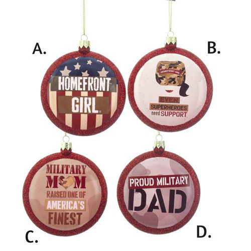 Homefront Girl Military Discs