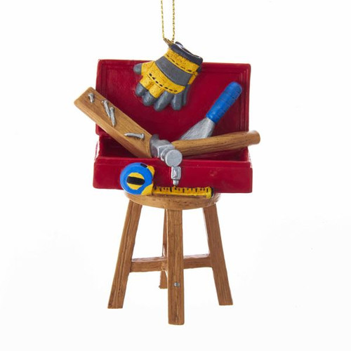 RES TOOL BOX ON STOOL HANGING ORN