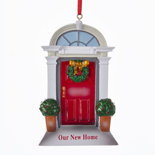 """4.13""""RESIN """"OUR NEW HOME"""" DOOR ORNAMENT"""