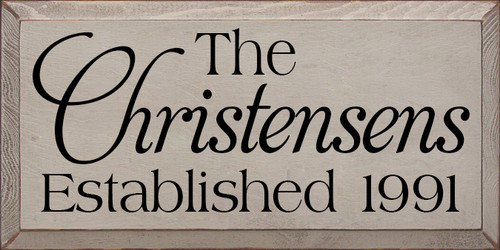 CUSTOM The Christensen's 9x18