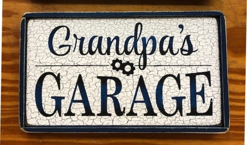 Personalized (Name)'s Garage Sign