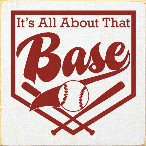 It's All About That Base  Baseball Pun