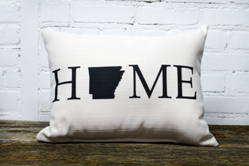 Personalized Home State Rectangle Pillow