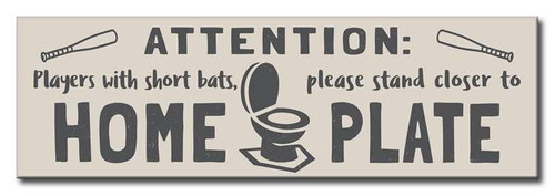 Attention: Players With Short Bats, Please Stand Closer To Home Plate