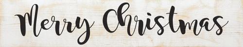 Merry Christmas Farmhouse Style Wood Sign