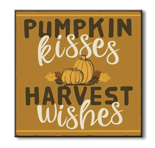 Pumpkin Kisses Harvest Wishes
