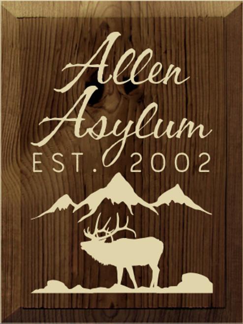 Allen Asylum  EST.  2002