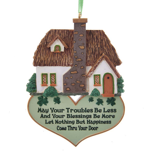 Irish Home Blessing Ornament