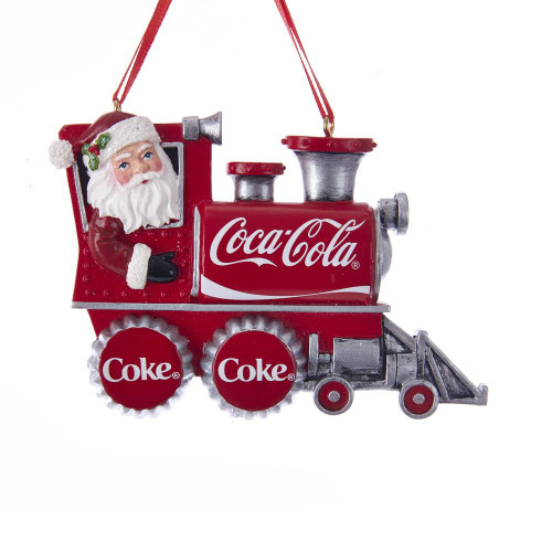 Coca-Cola® Santa Train Ornament