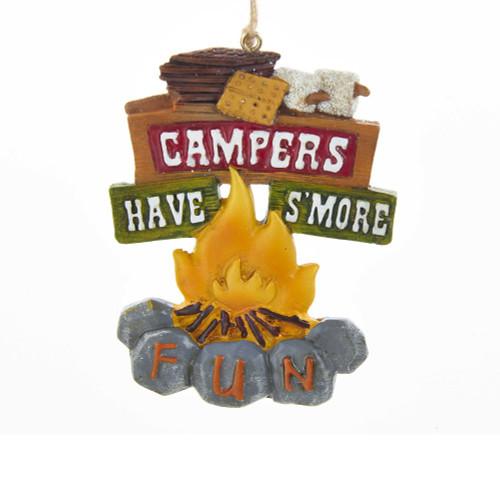 Campfire Smores Hanging Ornament