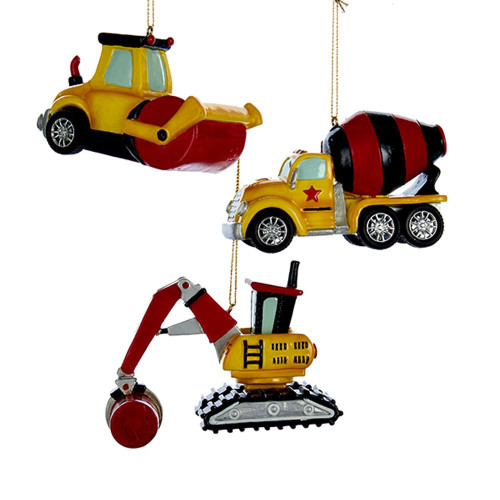 Kids Construction Set Ornaments