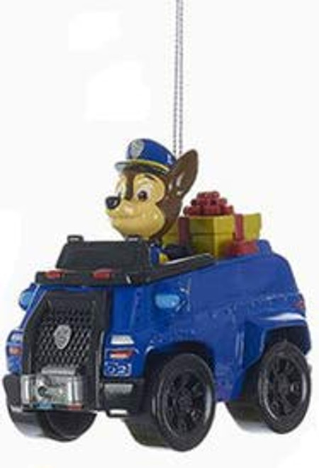 Paw Patrol Chase on Truck Ornament 3.25 in.