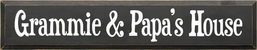 CUSTOM Wood Sign Grammie & Papa's House 7x36