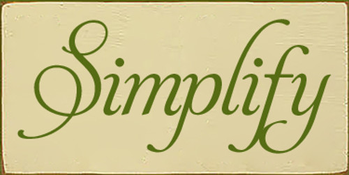 5x10 Cream board with Moss text  Simplify