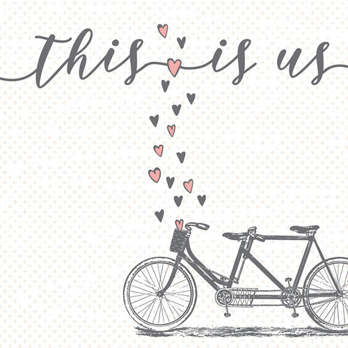 This Is Us - Wooden Sign 4X4