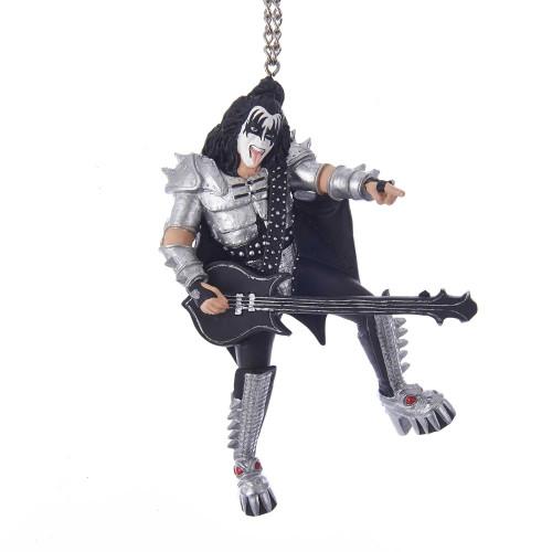 Resin Kiss Demon Gene Simmons Rockstar Ornament 5in.