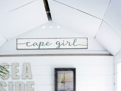 Outdoor Sign - Cape Girl - 8x47