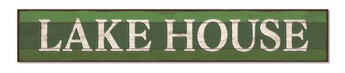 Outdoor Sign - Lake House - 8x47 Horizontal