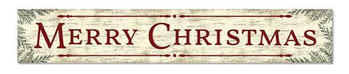 Outdoor Sign - Merry Christmas - 8x47