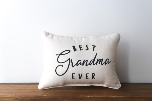 Best Grandma Ever Rectangle Pillow