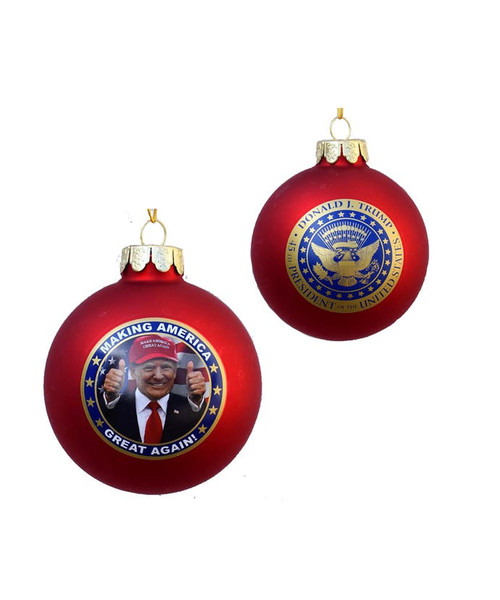 Trump America Great Again Ornament
