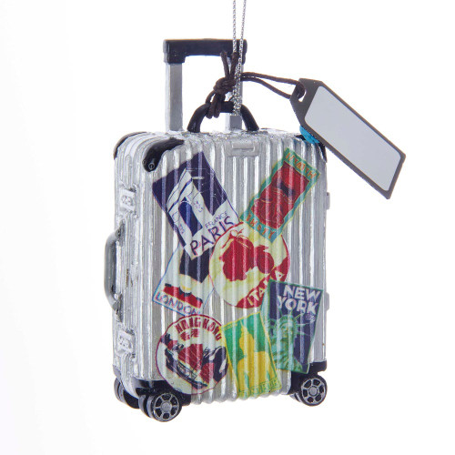 Resin Travel Luggage Ornament