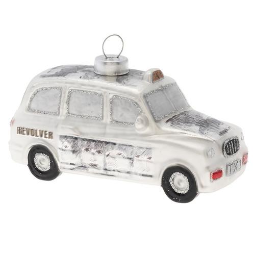 The Beatles Silver Revolver Cab Ornament
