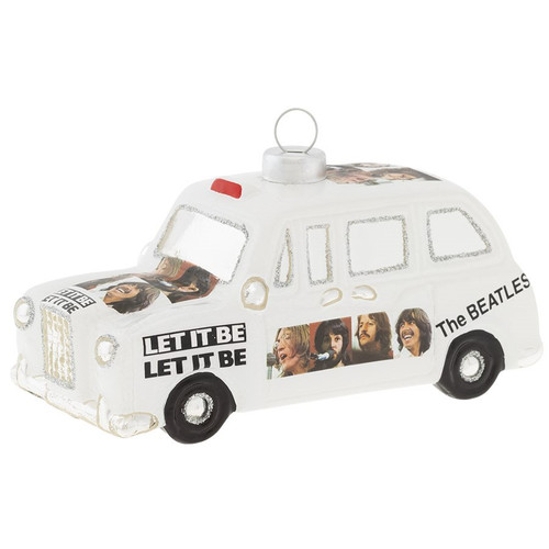 The Beatles Let It Be Cab Ornament