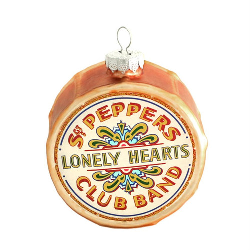 The Beatles Sargent Pepper Drum Ornament