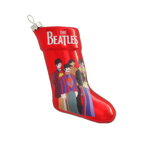 The Beatles Christmas Stocking Ornament