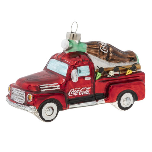 Coca-Cola Delivering the Holidays Ornament
