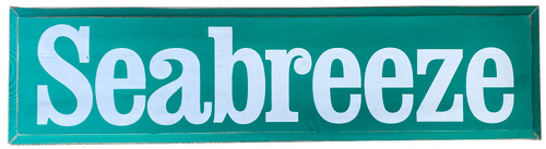 Seabreeze - Wooden Sign 9x36