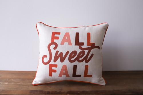 Fall Sweet Fall Square Pillow